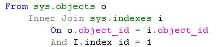 sys.objects