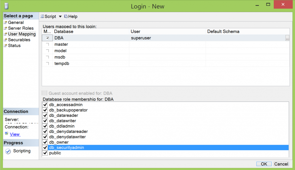 sql server check user permissions on database