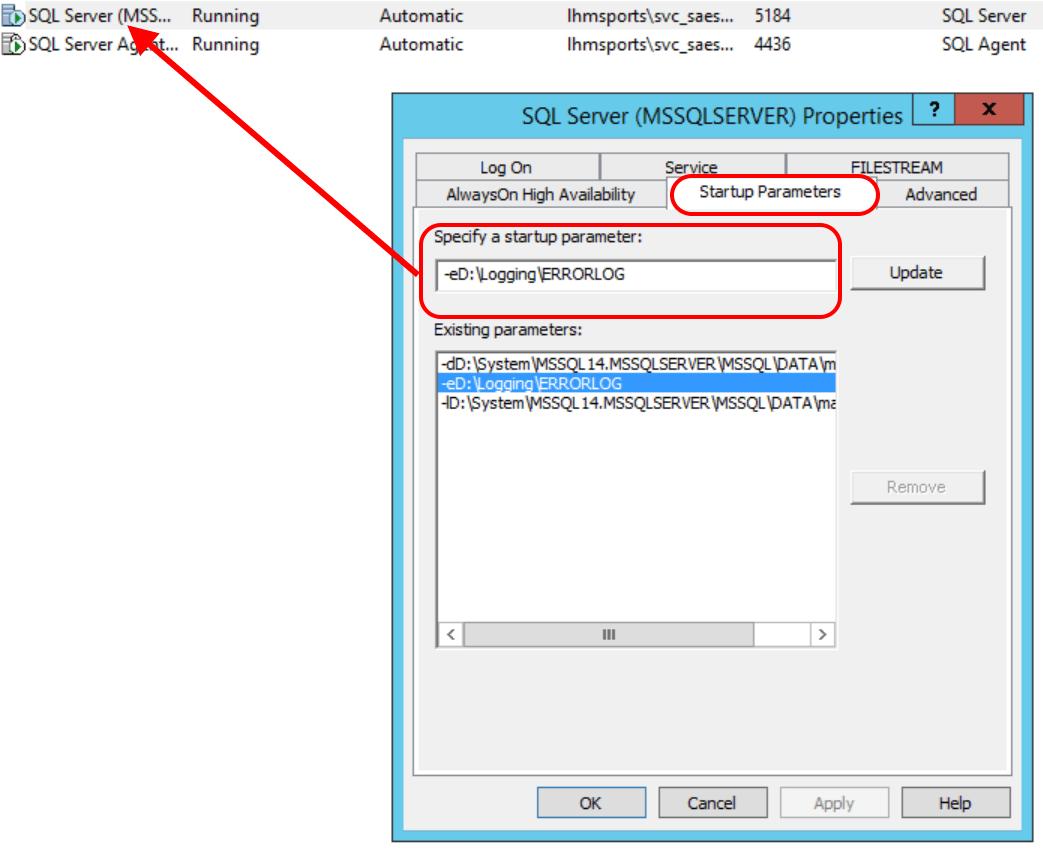 Changing Default Logs Directory - Back to Basics | SQL RNNR