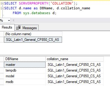Change SQL Server Collation - Back to Basics | SQL RNNR